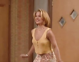 Christina Applegate braless